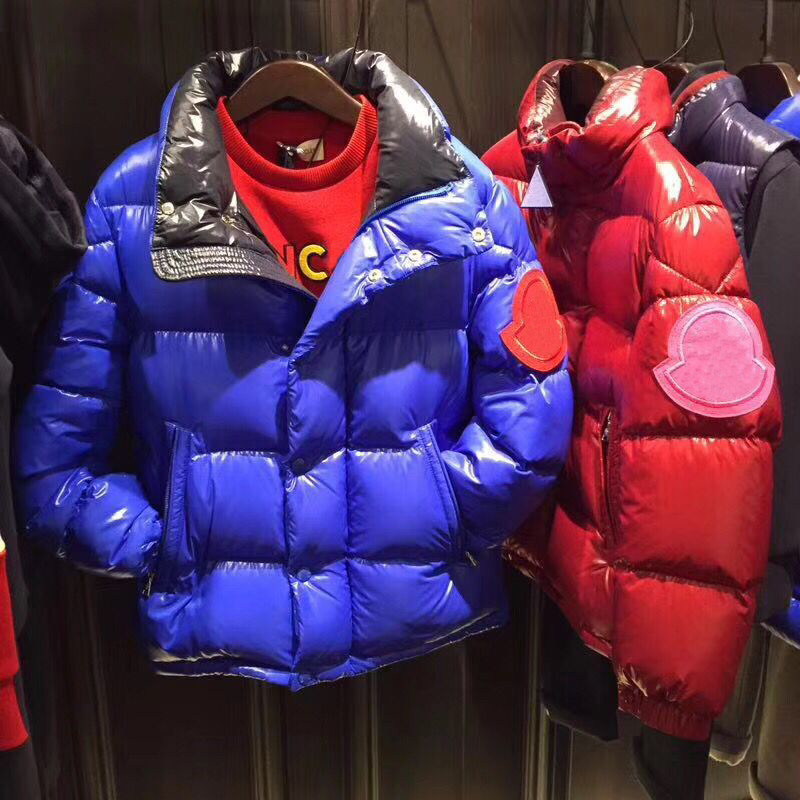 kid down jackets hooded duck down clothes for boys girls autumn winter warm overcoat outwear clothes in end of Nov цена