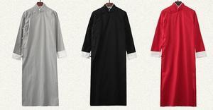 Image 5 - Детская и взрослая хлопковая форма кунг фу 9 цветов для Тай Чи taoist robe crosstagown Wing Chun Suit одежда зеленая/белая/красная/синяя