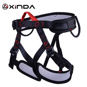 XINDA Camping Safety Belt For Rock Climbing Outdoor Expand Training Aerial Half Body Harness Protective Supplies Survival