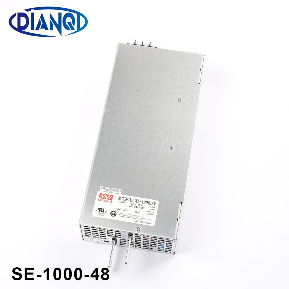 Original MEAN WELL power suply unit ac to dc LED power supply 750W 5V 150A 1000W 12V 83.3A 15V 66.7A 24V 41.7A 48V 20.8A