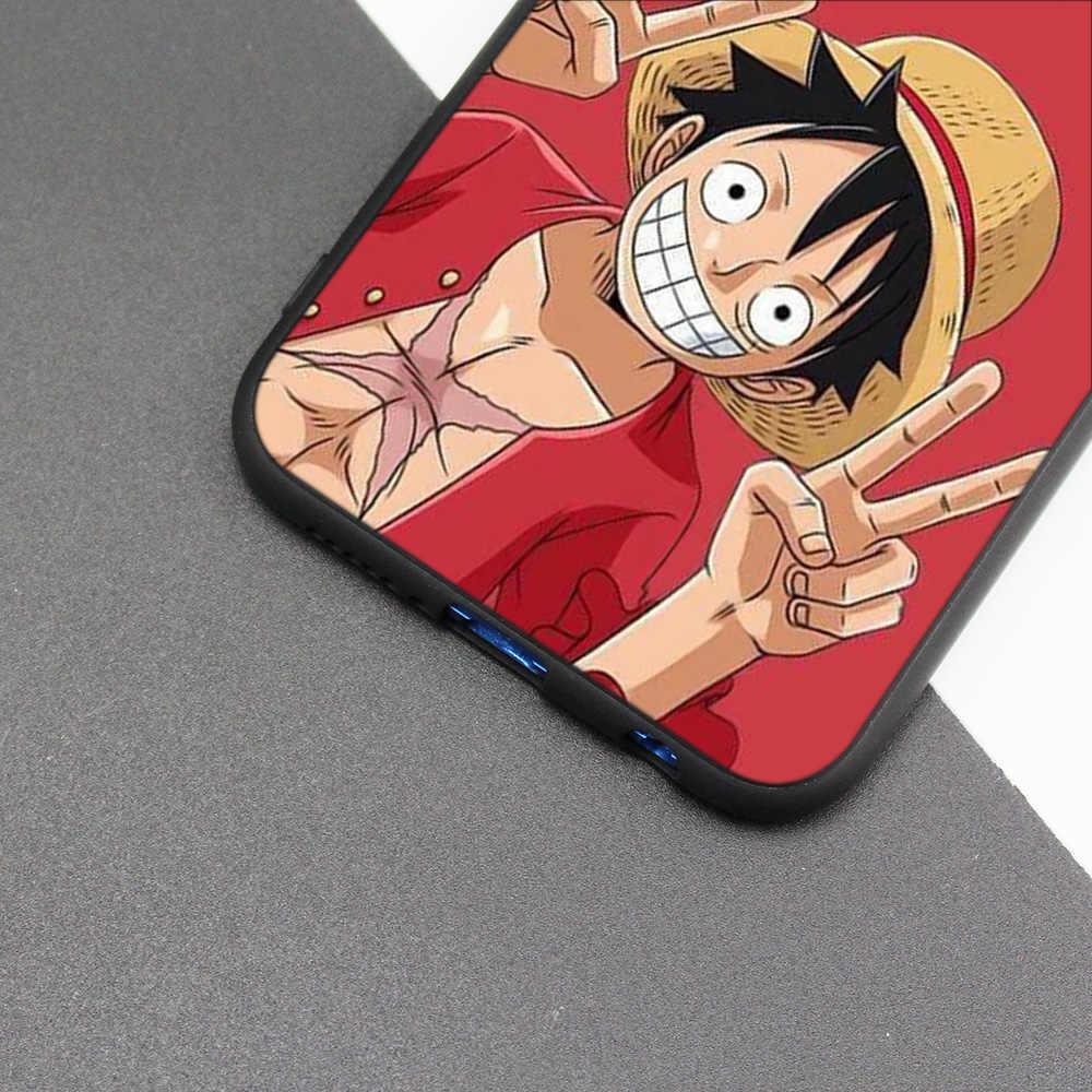 Silicone Case Cover for Huawei P20 P10 P9 P8 Lite Pro 2017 P Smart+ 2019 Nova 3i 3E Phone Cases One Piece Anime Online