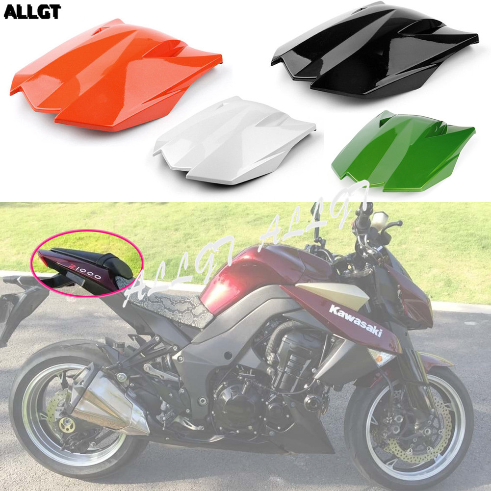 Rear Passenger Seat Cowl Cover Tail Fairing For Kawasaki Z1000 2010 - 2013 11 12 for ducati 848 1098 1198 all year new motorcycle passenger rear seat cover cowl motor seat cover case
