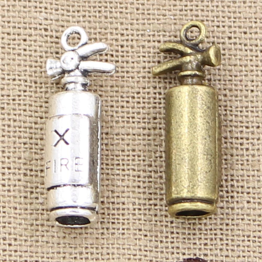 5 pz Charms fuoco 23 6 6mm fascini Antichi 28b52acd95c