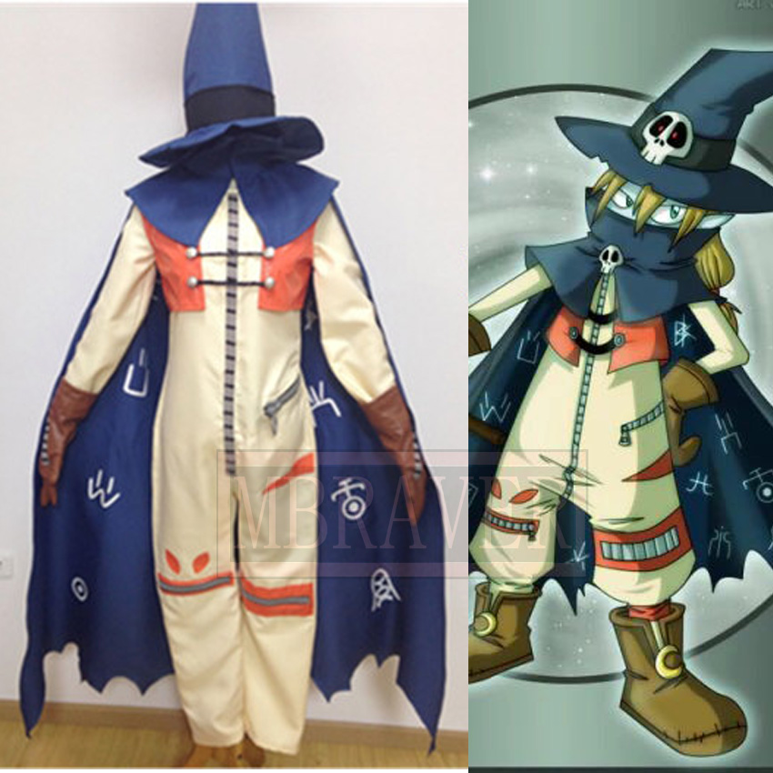 Anime Digimon Adventure Digital Monster Wizarmon Cosplay Costume Tailor made