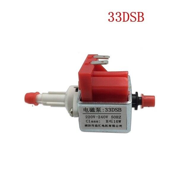 33DSB אלקטרומגנטית משאבת AC 220 V 240 V 16 W קיטור ברזל קיטור סמרטוט רפואי מים משאבת עצמי תחול מיקרו מגנטי נהיגה משאבת