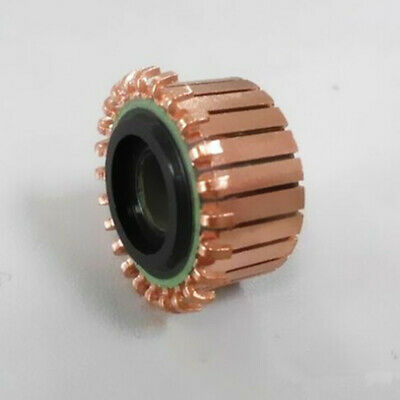 1PC CP2421 Motor Commutator 8 X 21.5 X 13mm 24P Teeth Silver Copper Bars