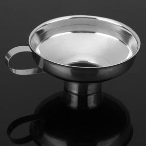 Image 5 - 캐닝 깔때기 스테인레스 스틸 와이드 캐닝 깔때기 호퍼 필터 누출 와이드 입 캔 오일 와인 주방 조리 도구