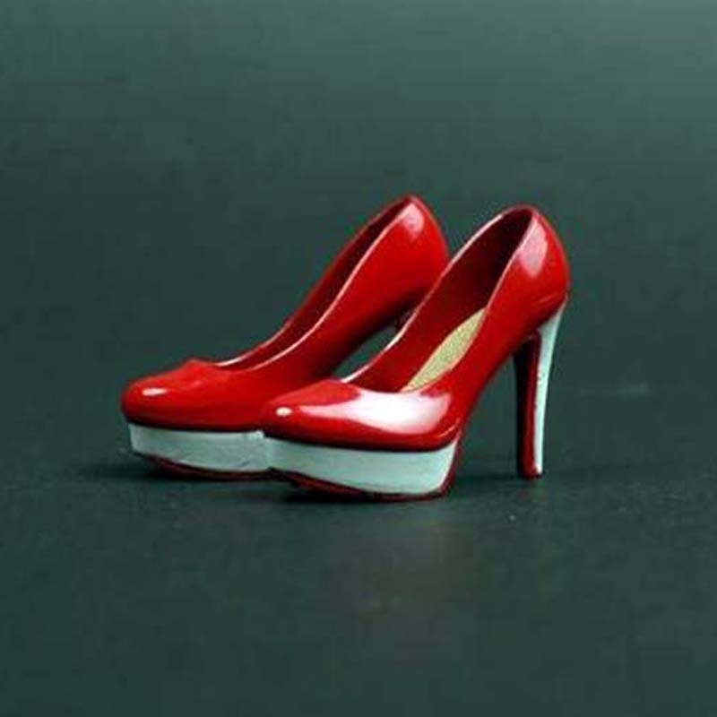 """Mini SYL Red H//Heels with Ankle Strap 12/"""" Action Figure 1//6th Scale Access"""