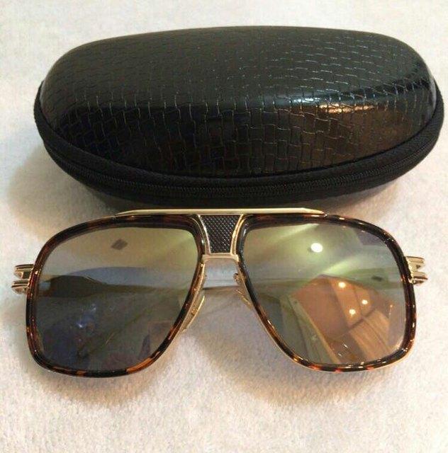 4f9b0340442 Grandmaster Five Sunglasses 2018 Women Men 18K Gold Sunglass Brand Mach One  Vintage Oversized Sun Glasses oculos de sol With BOX