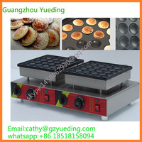 Free shipping CE approved Electric 50 holes commercial pancake maker/muffin making machine/poffertjes machine