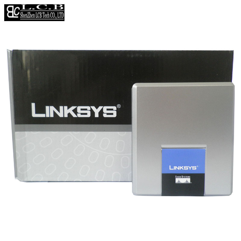 Linksys spa2002 открыл 2 FXS SIP IP телефона voip адаптер АТС телефон Телефоны сервер Системы