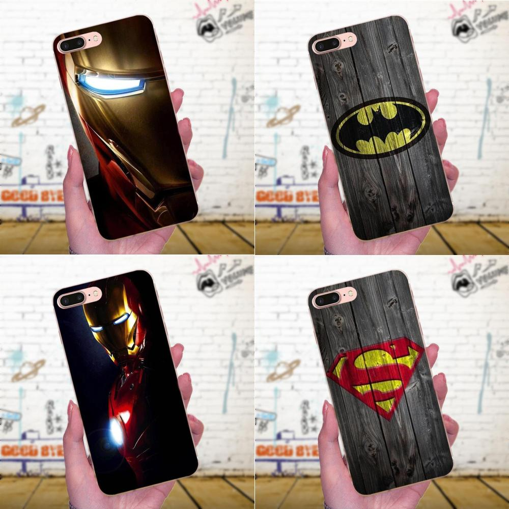 Deadpool Iron Man Marvel Avengers Für <font><b>Galaxy</b></font> A3 A5 A7 On5 On7 2015 2016 2017 Grand Alpha G850 Core2 Prime s2 I9082 TPU Druck image