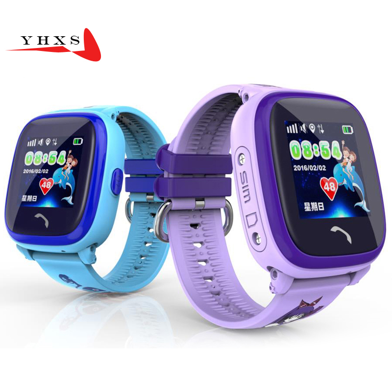 IP67 Waterproof Smart Watch Kid Baby GPRS LBS Locator Safety Tracker SOS Call SIM Card Remote Monitor Smartwatch For IOS Android