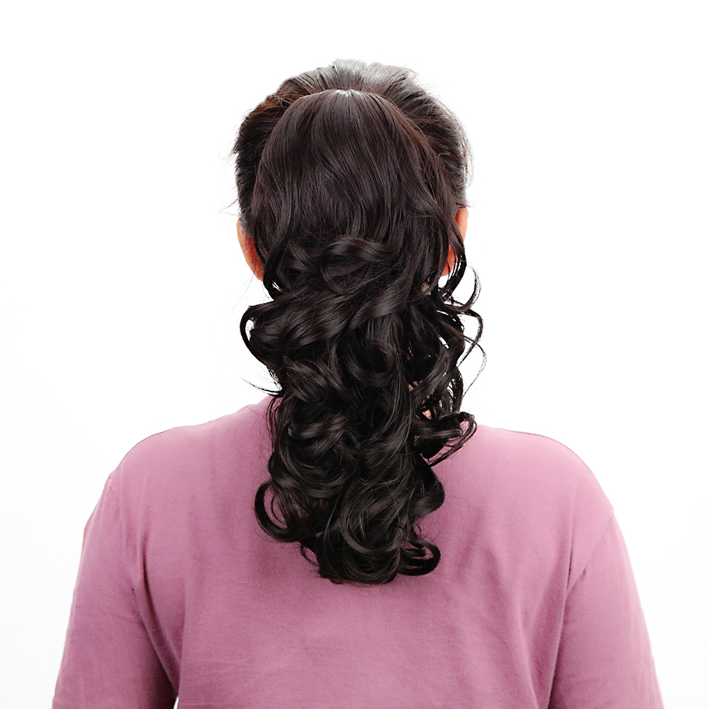 Synthetic Claw Ponytail Long Weave Ponytails Hair -1581