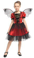 Children's Halloween Animal Dress Up Performance dress Flower Fairy performance Clothing Purim Party dress