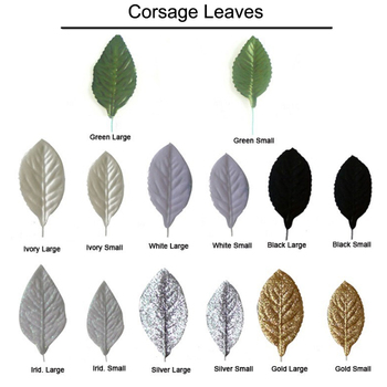 Corsarge Fabric Leaves Bride Bouquet Wedding Flower Leaves Wedding / Party / Prom Decoration Free DHL