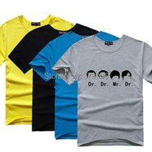 The Big Bang Theory Fan T-shirt Sheldon Cooper T Shirts Science Geek Tee Tshirt