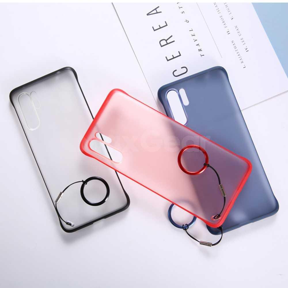 Para Huawei P20 P30 Pro Lite funda protectora transparente de cristal híbrido para Honor Mate 10 20 Pro Nova 3 3i 4 5 5i marco anillo Coque