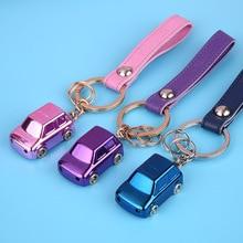 Car Modeling Keychain LED Light Key Ring Fashion Key Holder for Toyota Camry Mini Cooper R56 Mazda 3 Suzuki Sx4 Keychain Pendant soft tpu car key case cover keychain for toyota avalon 8 camry 2019 levin ioza chr
