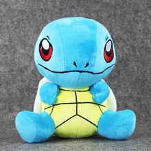 10 25CM Squirtle Plush toy figures Toys Banpresto climb Soft Stuffed Anime Cartoon Dolls