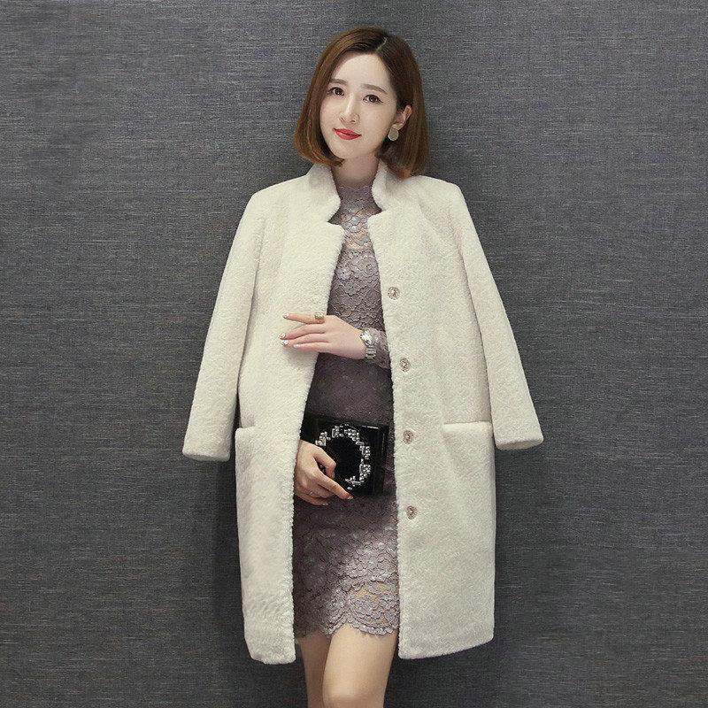 100% Laine manteau mouton Manteau femelle de veste femmes veste Femmes vestes d'hiver de la vraie fourrure des femmes de manteaux de fourrure hiver Asiatique taille 2018