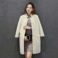 100% Wool coat mouton Coat female jacket women's jacket Women's winter jackets real fur women's fur coats winter Asian size 2019