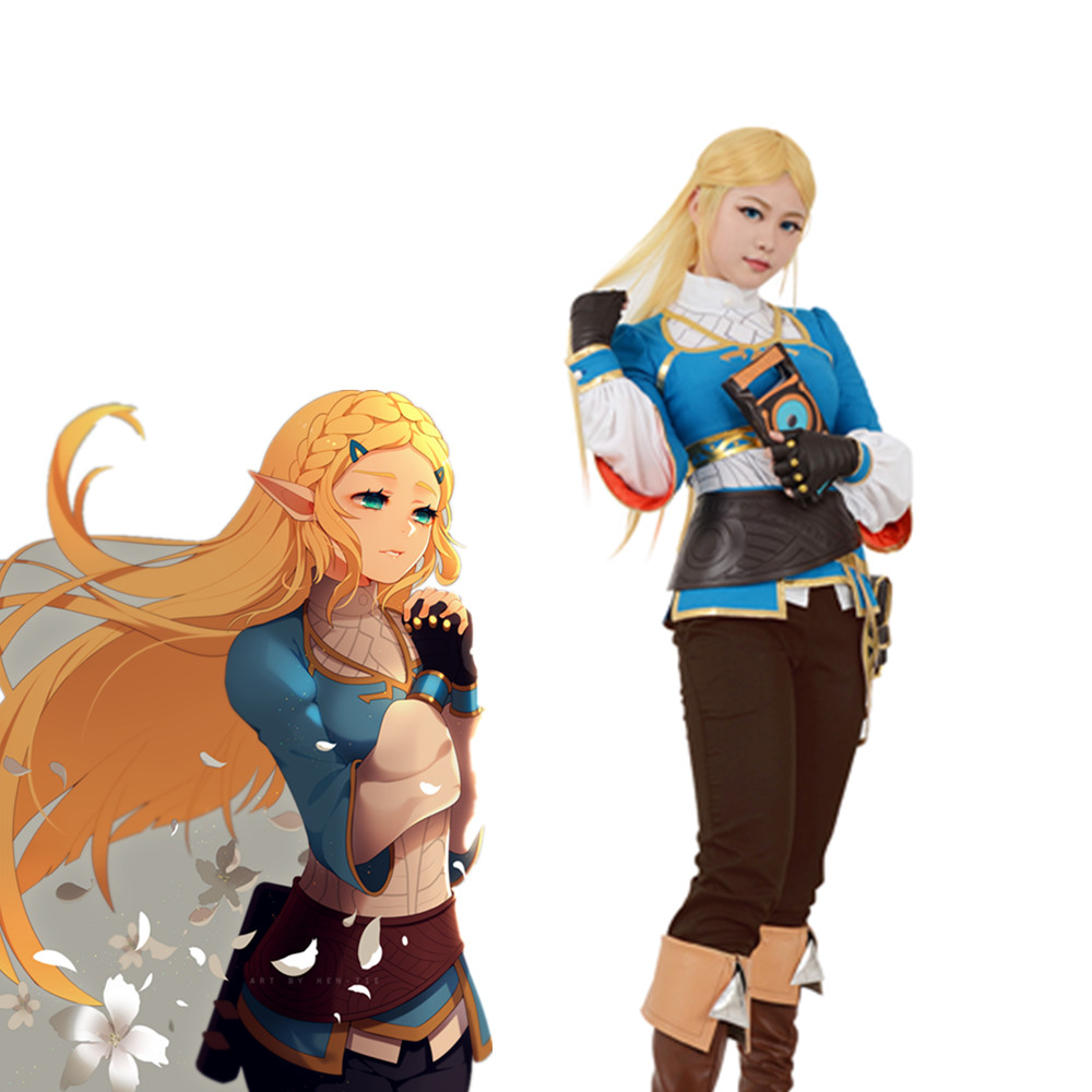 Us 77 99 Zelda Botw Cosplay The Legend Of Zelda Breath Of The Wild Princess Zelda Cosplay Costume In Game Costumes From Novelty Special Use On
