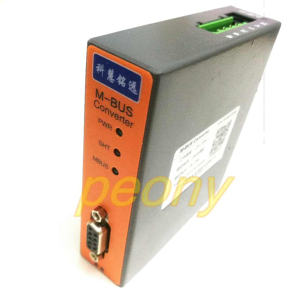 MBUS M BUS to RS232 485 converter 100 load KH CM M100