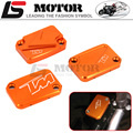 Hot sales Motorcycle Accessories Front Brake Master Cylinder Reservoir Cover For KTM DUKE 125 200 390 RC200 RC390 2012-2016