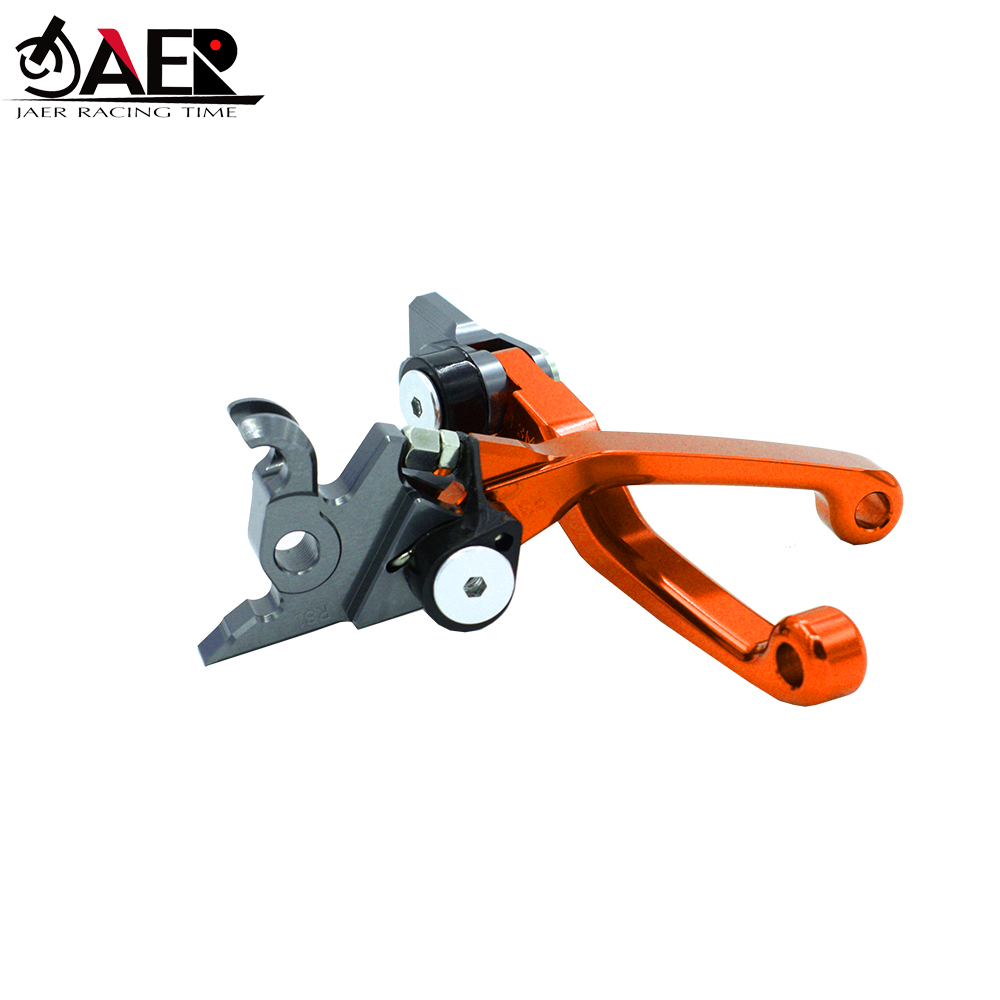 Image 2 - JAER CNC Pivot Foldable Clutch Brake Lever For KTM SX EXC XCW 125 150 200 2014 2015 2016-in Levers, Ropes & Cables from Automobiles & Motorcycles
