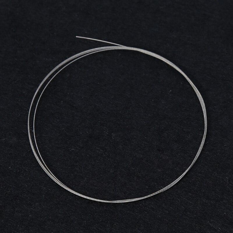 1m DIY Coping Saw Blades Cutting Metal Wire Diamond Emery Jade Metal Stone Glass Diameter 0.38mm Length 1m