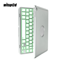 7 Colors Backlit Keyboard With Case For IPad Air Slim Bluetooth 3 0 Keyboard Cover