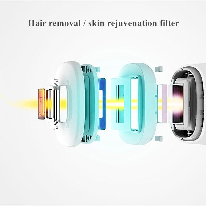 IPL laser hair removal machine laser epilator hair removal permanent bikini trimmer electric depilador a laser facial men women in Epilators from Home Appliances