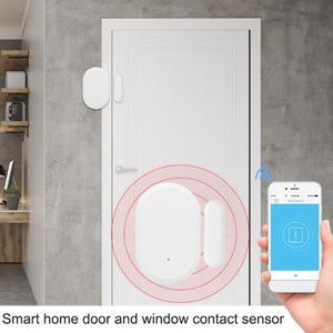 Image 2 - Tuya Smart Home Door Window Contact Sensor WiFi App Notification Alerts