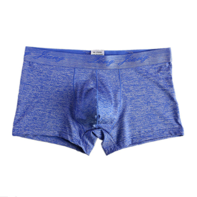 Seamless Underwear Sexy Men Boxer Shorts Trunks Soft Males Bulge Pouch Trunks Solid Bottoms Breathable Knickers Homme Cuecas New