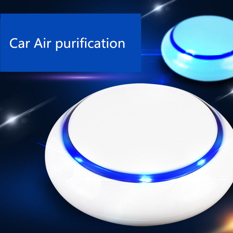 100pcs Car Air Purifier  ionizer Humidification For Fresh Air Car Oxygen Bar vehicle to remove cigarettes smell,peculiar smell