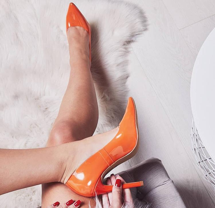 2018 Estate Nuova Sfilata di Moda Punta a punta IN PVC Trasparente Superiore High Heels Scarpe Donna Slip On Tacchi A Spillo Zapatillas Mujer - 5