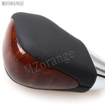 MZORANGE коричневая ABS ручка переключения передач кожаная автоматическая коробка передач для Toyota Land Cruiser 2005-2016 ручной мяч переключения передач