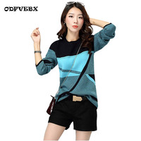High Quality Spring Autumn Winter Women Sweaters Large Size Hedging Thickened Long Sleeved Loose Knit Sweater