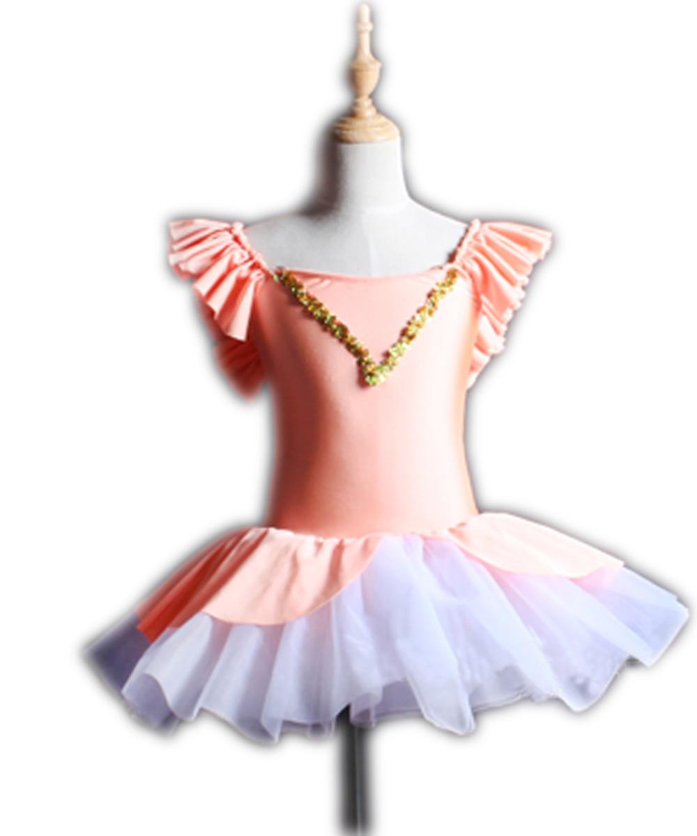 professional ballet costumes tutu dance dress for children women girls gymnastics leotard dancewear infantil