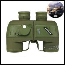 BOSTRON 10X50 Binoculars HD Rangefinder Compass Waterproof Nitrogen Telescope Telescopio Binocolo Teleskop Eyepiece Focus Bak4