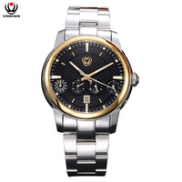 XINBOQIN Männer Mechanische Uhr Automatische Selbst Wind Armbanduhr Mode Marke Echtem Leder Männer der Multifunktionale Uhren 3028