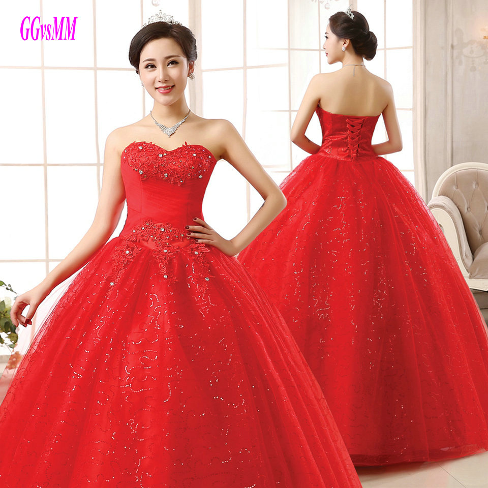 Plus Size Red Wedding Dresses – DACC
