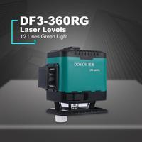 DOVOH 12 Lines Green Light Laser Levels Leveling Instrument Self leveling Laser Leveler Vertical Horizontal Cross Laser Dropship