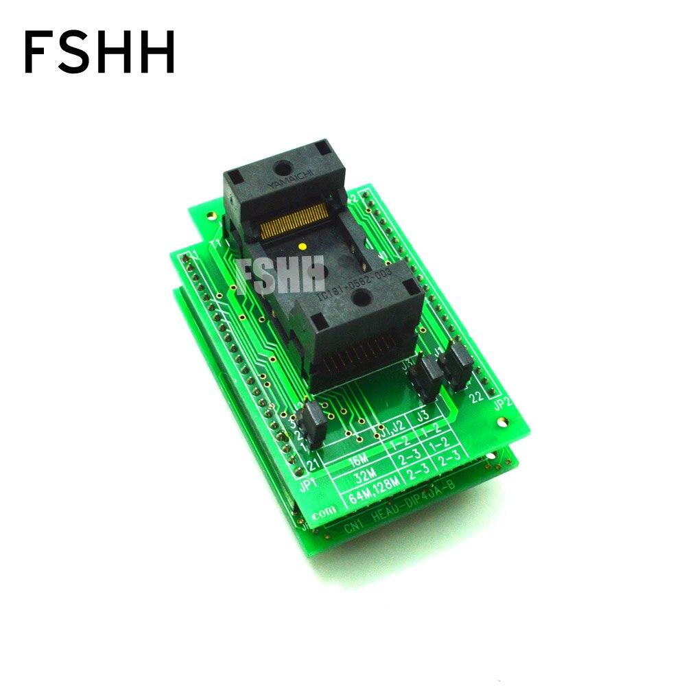 HEAD-FMEM-TS56 Programmer adapter for HI-LO GANG-08 Programmer adapter TSOP56 test socket