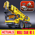 LEPIN 20004 Technic Motor Power Mobile Crane Mk II Model Building Kits  Blocks Toy Bricks compatible with 42009