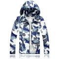 2016 New Arrival Mens Hoodies and Sweatshirts Fashion Mens Hooded Jacket High Quality Camouflage Jacket Coat Brand-Clothing