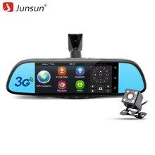 Junsun K719 3G Spécial Voiture DVR Caméra Miroir 7 «Bluetooth Android 5.0 Double Lentille Full HD 1080 P Enregistreur Vidéo Dash Cam Dvr
