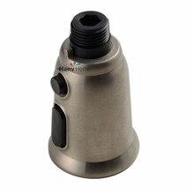 2 Funktionen Gebürstetem Nickel Herausziehen Spray Küchenarmatur Ersatz Duschkopf Sprayer Auslauf Pull Down Düse