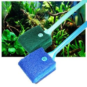 Image 5 - Limpador de aquário 5 em 1, ferramentas de limpeza de aquário, rede de qualidade, raspador de cascalho, esponja e escova, novo, 2019 ferramenta de limpeza,